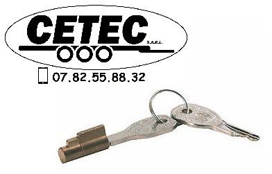 CETEC France Option N°15 - Barillet de sécurité