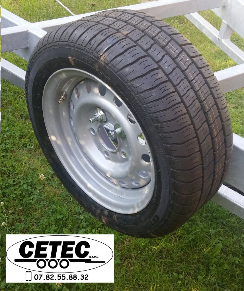 CETEC France Option N°2 - Roue Secours 13''
