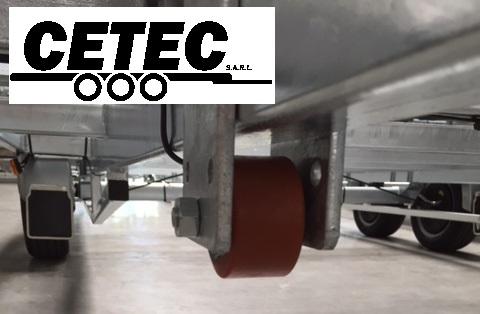 CETEC France Option N°7 - Roue Protection Sol