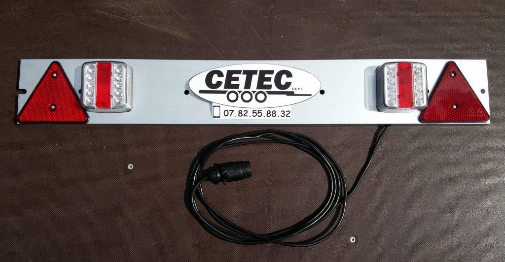 CETEC France Option N°17 - Rampe de feu LED