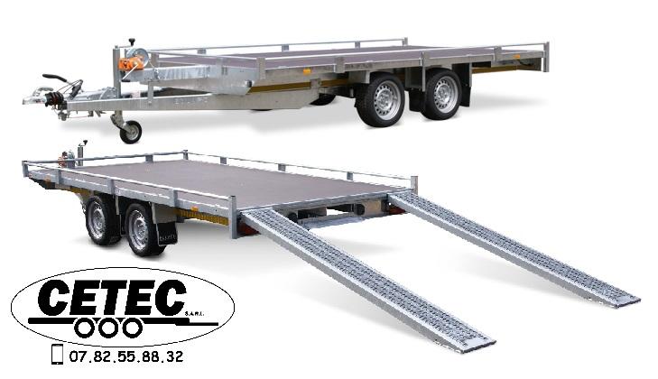 CETEC-France-plateau 4M x 2M 2.à 3.5T avec ou sans rampes possibilité de rambarde eduard 4020-4-PMR10